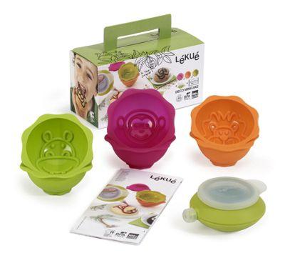 Lekue Deco Mini Cake Kit, Jungle Animals