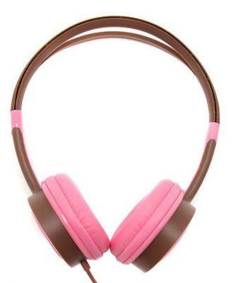 Urbanz VIBEP Vibe Light-Weight Headphones - Pink