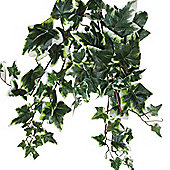 Homescapes Artificial Variegated Leaves Hanging Ivy Trail