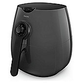 Philips HD9216-41 Air Fryer with 1425W and Dishwasher Safe Parts in Black