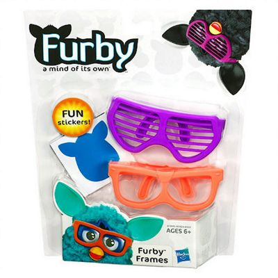 Furby Accessory Pack Furby Frames - Purple and Orange Glasses