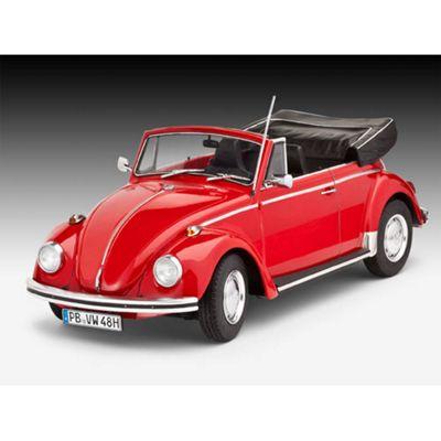Revell Vw Beetle Cabriolet 1970 1:24 Model Car Kit - 07078