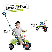Smart Trike Fun 2 in 1 Trike Green/Turquoise
