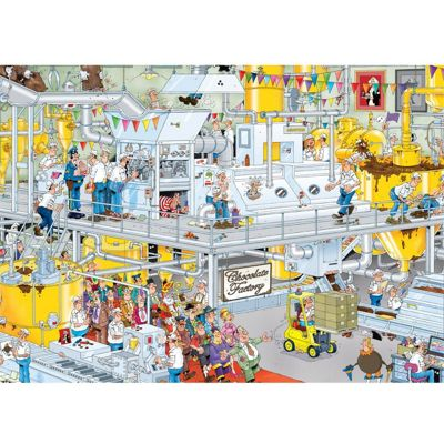 The Chocolate Factory - JVH Puzzle