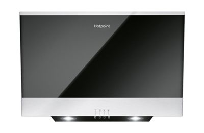 Hotpoint PHVP 6.6F LM K Cooker Hood - Black
