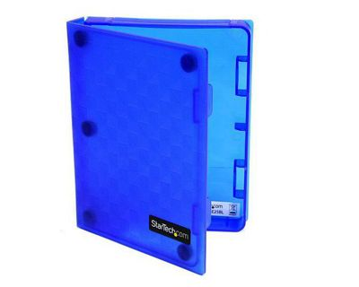StarTech 2.5 inch Anti-Static Hard Drive Protector Case - (Blue)