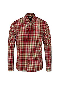 Mountain Warehouse Holiday II Mens Checked Shirt - Red