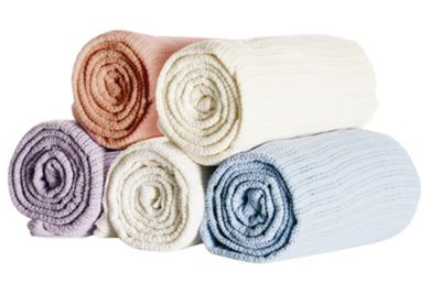 Belledorm Cellular Blanket - Single - Cream
