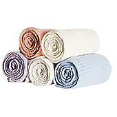 Belledorm Cellular Blanket - Single - Cream