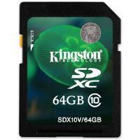 Kingston 64GB SDXC Flash Card (Class 10) CBID:2351632