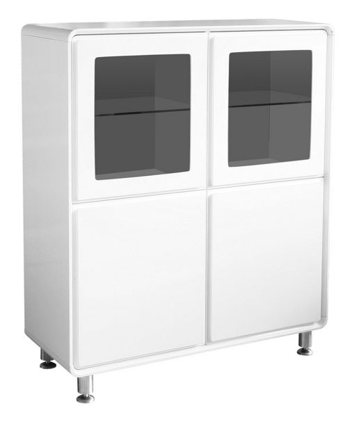 Home Essence Edana Storage Unit - White