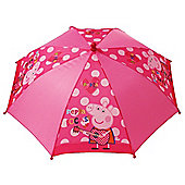 Peppa Pig 'Rocks' Nylon Umbrella