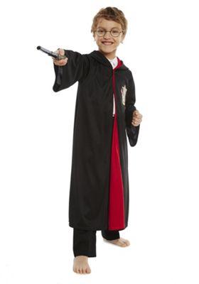 Warner Bros. Harry Potter Dress-Up Costume 5-6 yrs Black