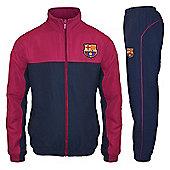 FC Barcelona Boys Tracksuit - Navy & Red