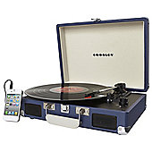 Crosley Cruiser Turntable with USB Port - Blue