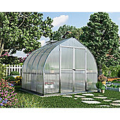 Palram Bella 8x8ft Silver Greenhouse
