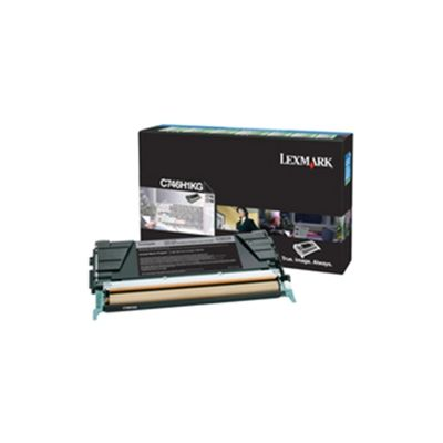 Lexmark C746/748 Toner Cartridge High Yield Black C746H2KG