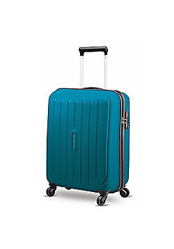 Carlton Phoenix 4-Wheel Hard Shell Blue Large Suitcase