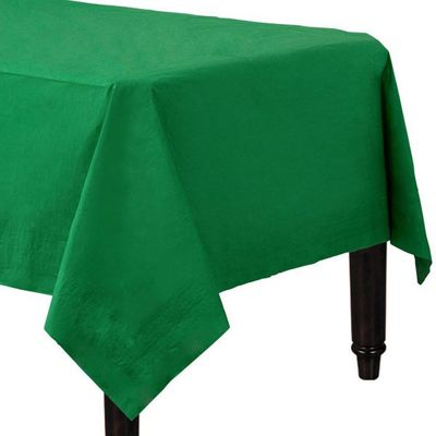 Green Tablecover - 2ply Paper - 1.4m x 2.8m