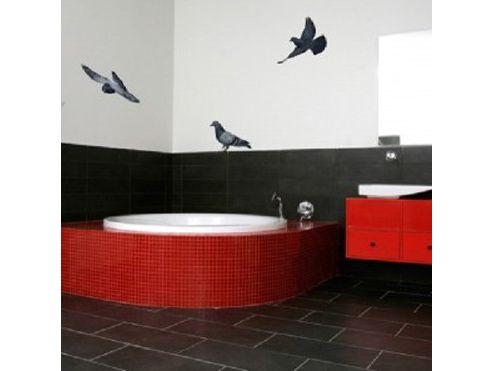 British Pigeons Wall Sticker