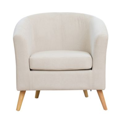 Sofa Collection Garonne Fabric Tub Chair - Beige