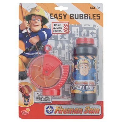 Fireman Sam Easy Bubble Mixture