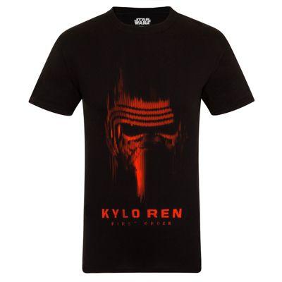 Star Wars Mens T-Shirt Kylo Ren Red XL
