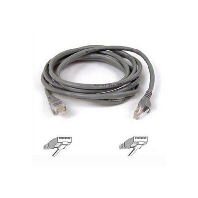 Belkin 1 m CAT5 RJ45 Snagless Patch Cable - Grey