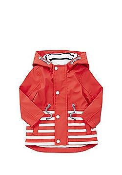 F&F Striped Mac - Red