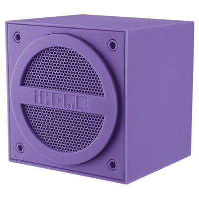 iHome IBT16 Bluetooth Speaker Purple
