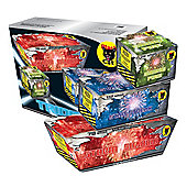 Trident 210 Shot Triple Pack Firework