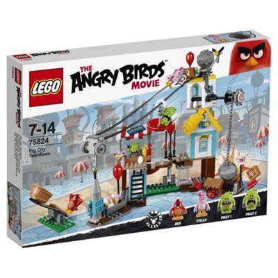 LEGO Angry Birds Pig City Tear Down 75824