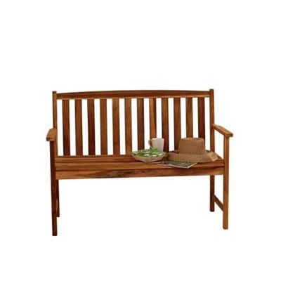 buy alexander rose acacia monte carlo garden bench 4ft
