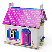 Le Toy Van Traditional Wooden Dolls House - Anna's Little House
