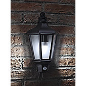 Auraglow LED Low Energy Motion Activated PIR Sensor Outdoor Security Vintage Wall Light - Cool White
