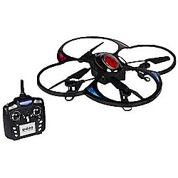 Drone RC Quadcopter with Camera 6 Axis Black & Red