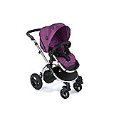 Your Baby Alaska Mirror Framed - 8 Piece Travel System - Deep Purple