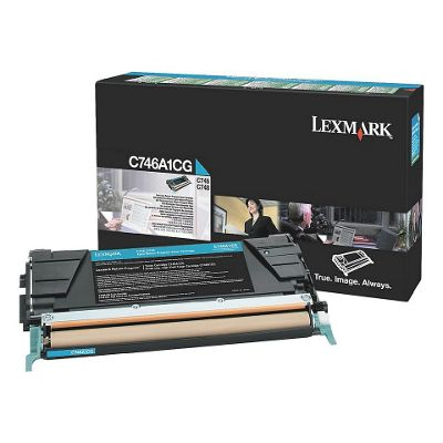 Lexmark Toner Cartridge (Cyan) for C746/C748 Printers