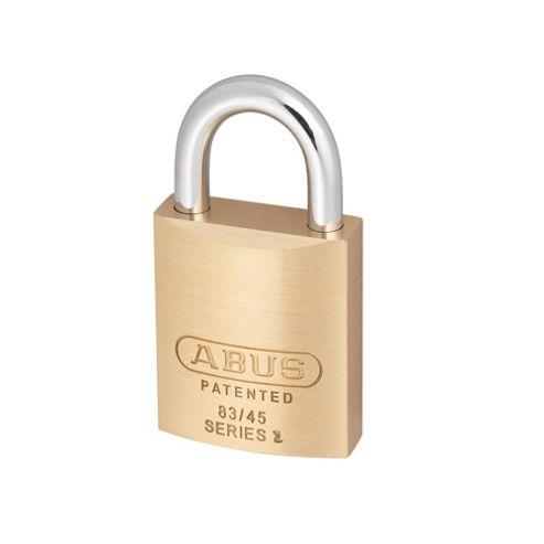 83/45 45mm Brass Body Padlock Carded