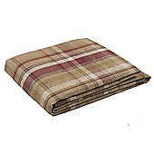 McAlister Heritage Throw - Mulberry Wool Look Tartan Check (130x200cm)