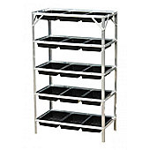 5 Tier Greenhouse Staging Seed Trays Frame