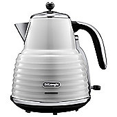 DeLonghi KBZ3001.W Scultura Kettle, 1.7 L - White