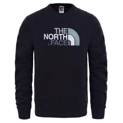 The North Face Mens Drew Peak Crew Fleece Black M