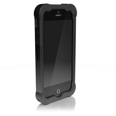 Ballistic SG Shell Gel Clip-On Case Cover for iPhone 5/5S - Black