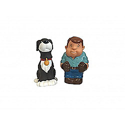 Tomy Johnny & Friends Farm Adventure Playset - Johnny and Dog