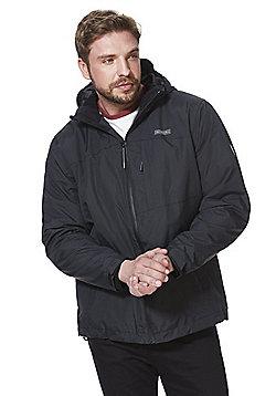 Jacamo Snowdonia 3 in 1 Jacket - Black