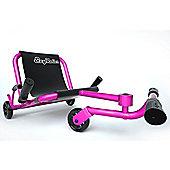 Ezy Roller Classic No-Pedal Snake Kart Pink
