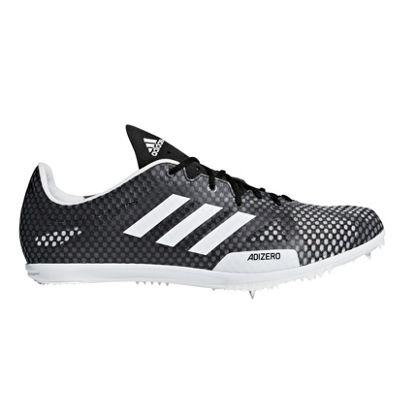 adidas adizero Ambition 4 Womens Running Spike Shoe Black/White - UK 3.5