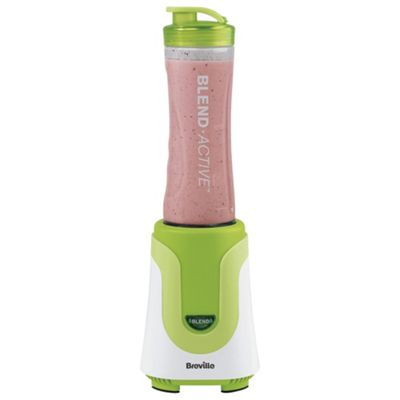 Breville Blend Active VBL062 Personal Blender - White & Green