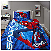 Spiderman Single Duvet Set